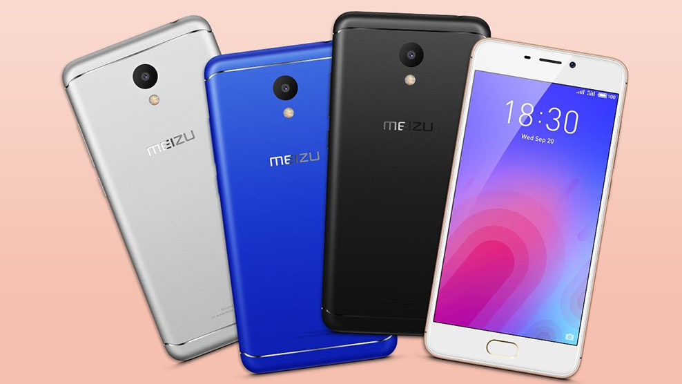 meizu m6 colors