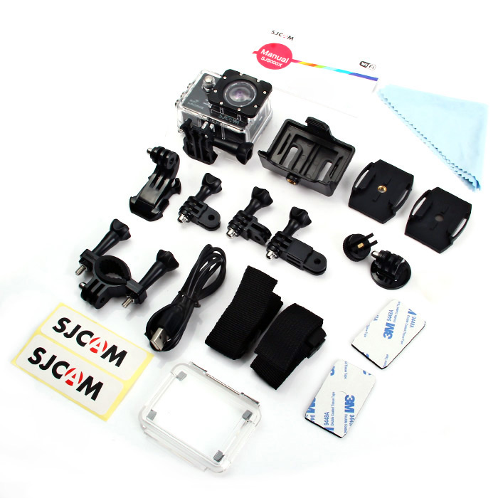 sjcam 5000x elite 4k sportcam accessories