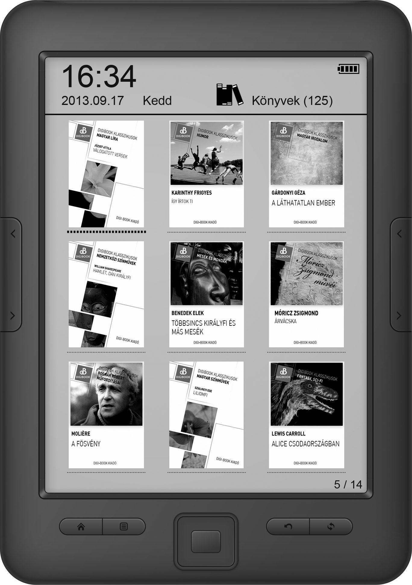 WayteQ Digi Book XBook 60
